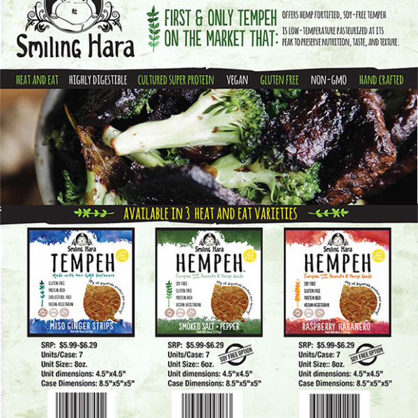 All the juicy details on our Heat and Eat Tempeh line.