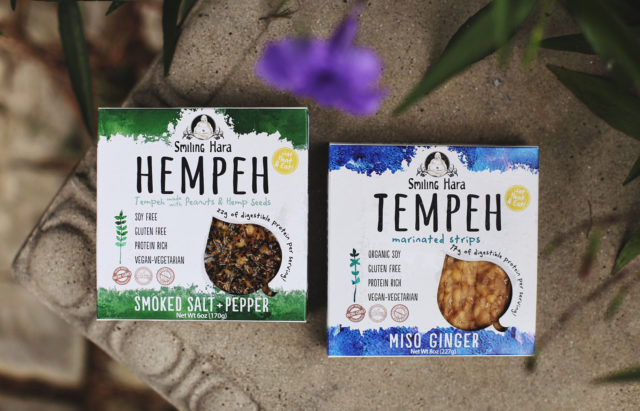 Hempeh and Tempeh packages in two flavors