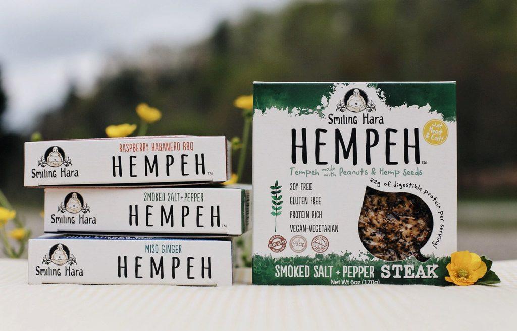 Smiling Hara Hempeh packages