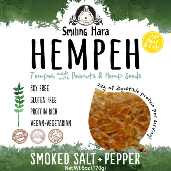 Smoked Salt and Pepper Hempeh
