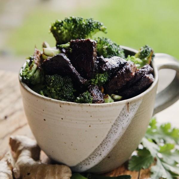 Delicious broccoli bowl